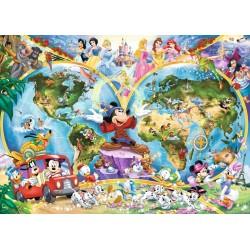 Mapa del Mundo de Disney