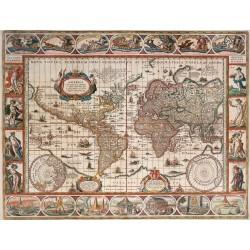 Mapamundi Histórico, Año 1650