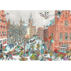 Fleroux: Amsterdam en Invierno