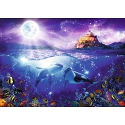 Orcas a la Luz de la Luna