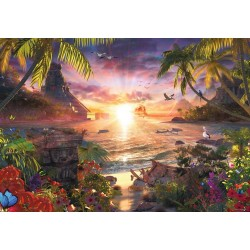 Atardecer en el Paraíso