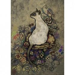 Jane Growther: Gato Siamés