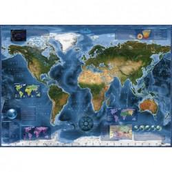 Mapa Satelital de la Tierra