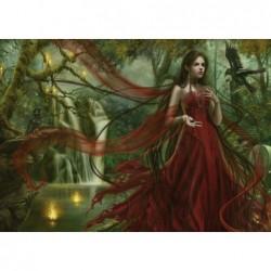 Cris Ortega: Vestido Rojo