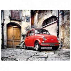 Un Auto Rojo
