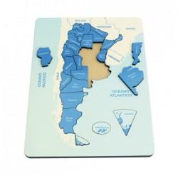Encastre Mapa De Argentina...