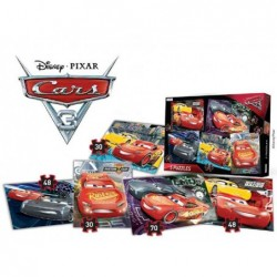 5 Puzzles En 1: Cars