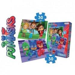 2 Puzzles: Heroes En Pijamas