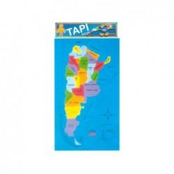 Mapa Argentina De Encastre...