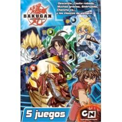 5 Juegos - 40 Naipes - Bakugan
