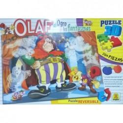 Olaf El Ogro 3d